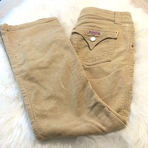Hudson tan corduroy pants